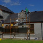 Extension Co Armagh works on site2