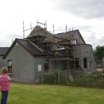 Extension Co Armagh works on site5