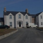 Front elevation traditional dwelling, Knappagh, Armagh