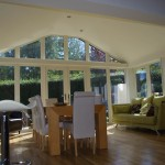 Internal view of sun room enjoying the afternoon sun, Dundonald