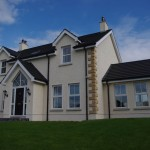 Front view new house Dromore, County Down