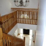 Bright, open, airy, light filled stairwell, Dromore, County Down.