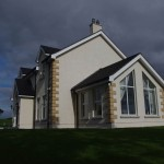 Exterior traditional farmhouse, Dromore, County Down