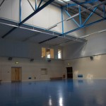 New rooms tucked into Sports Hall Roof