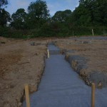 Foundations poured!