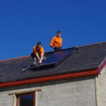 Solar Panel installation with www.get-renewables.com