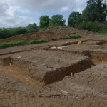 Waiting for concrete, Markethill, Co Armagh