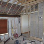 Lots of insulation keeps the heating bills down!