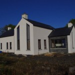 External view of new house Scarva, County Down