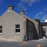 External view of new single storey house, Co Armagh