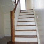 staircase curved landing