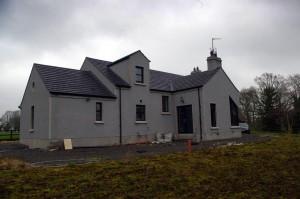 Rear view, farm dwelling, Portadown