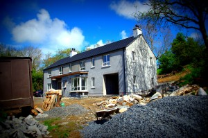 Front view of new house, Gilford
